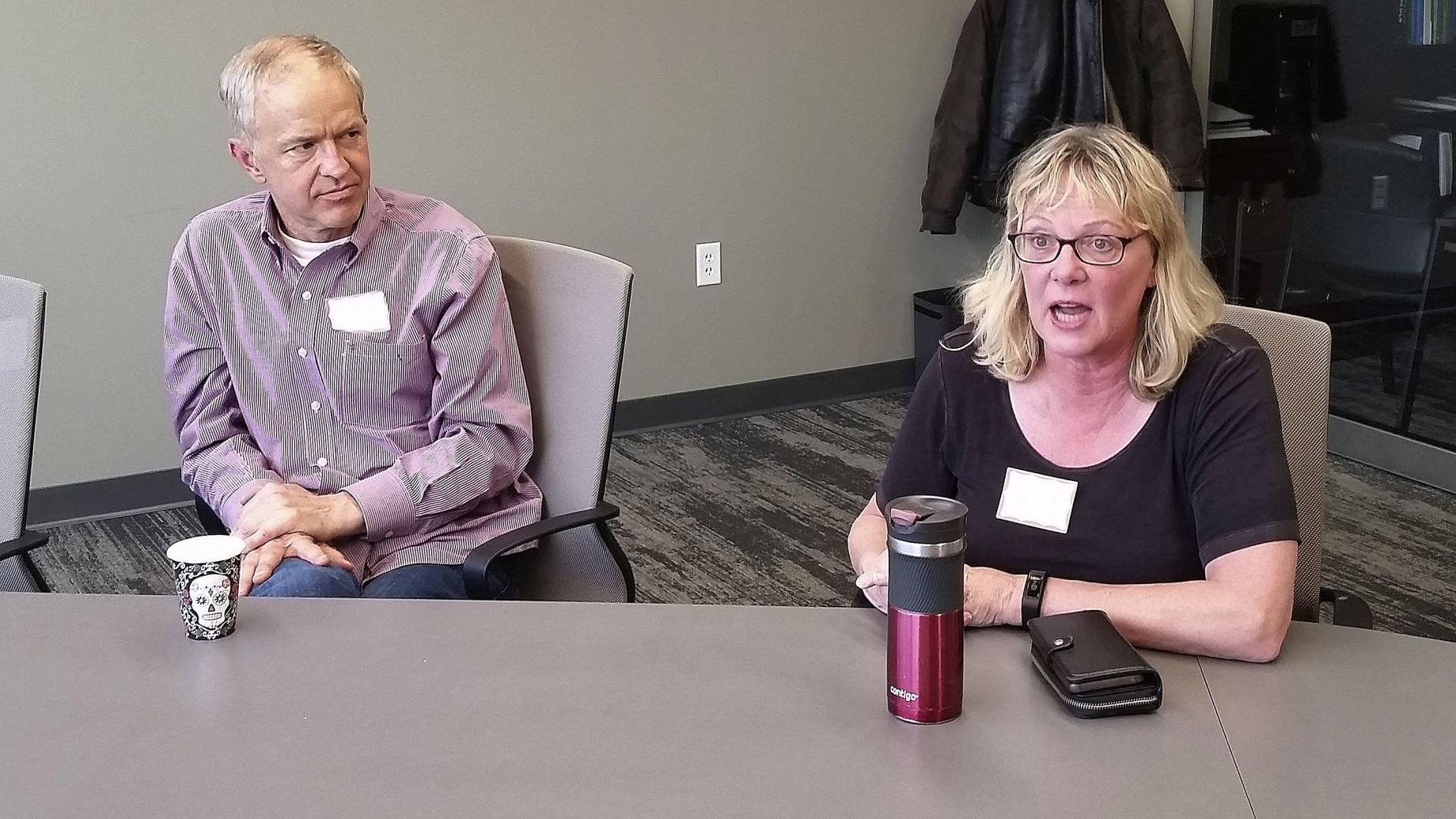 Facing mortality: New Death Cafe in Bloomington discusses taboo topic