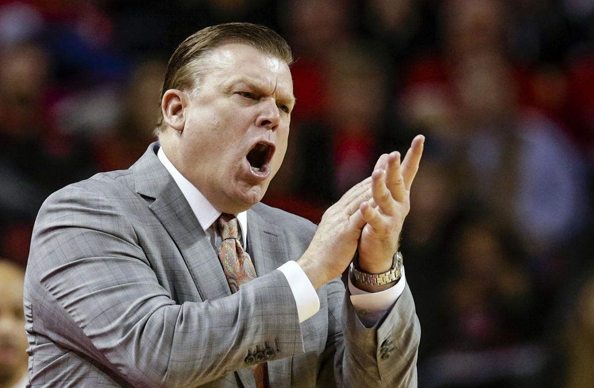 Illini coach Brad Underwood for anytime use