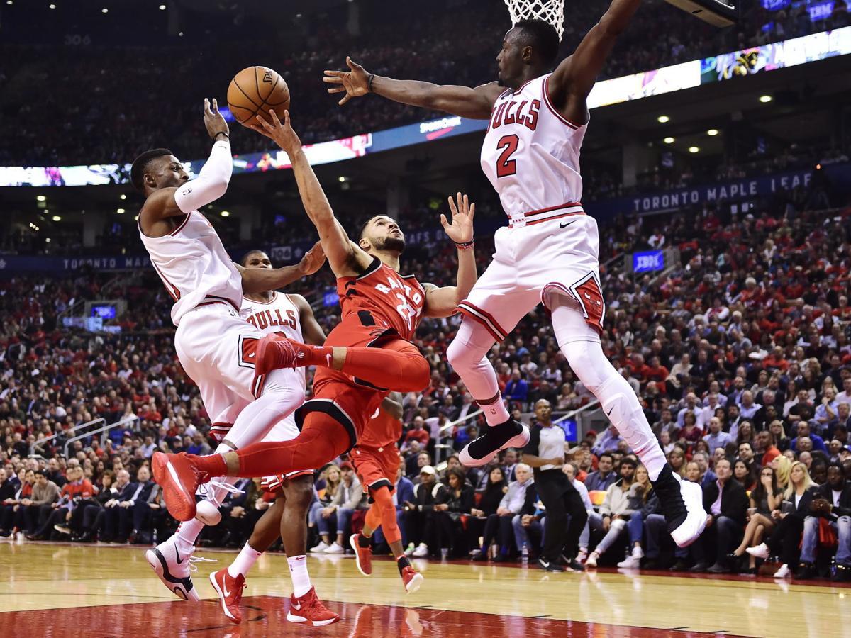 APTOPIX Bulls Raptors Basketball