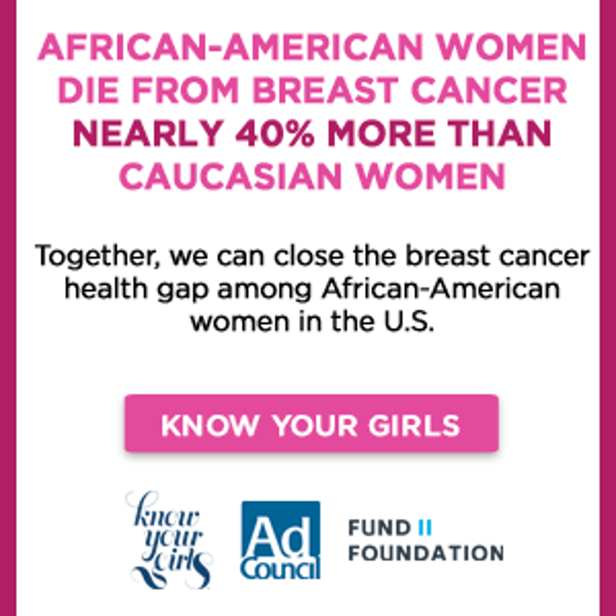 Know Your Girls To Inspire Black Women To Take Charge Of Breast Health Health Pantagraph Com