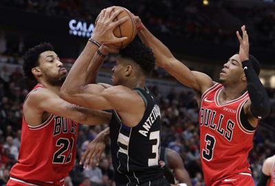 Bucks Bulls Basketball