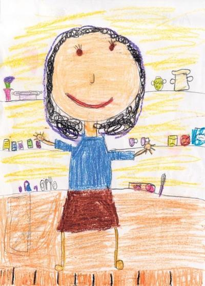 Amelia Sivore, Grade 1, Holy Trinity