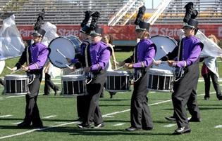 Marching bands' hard work plays off