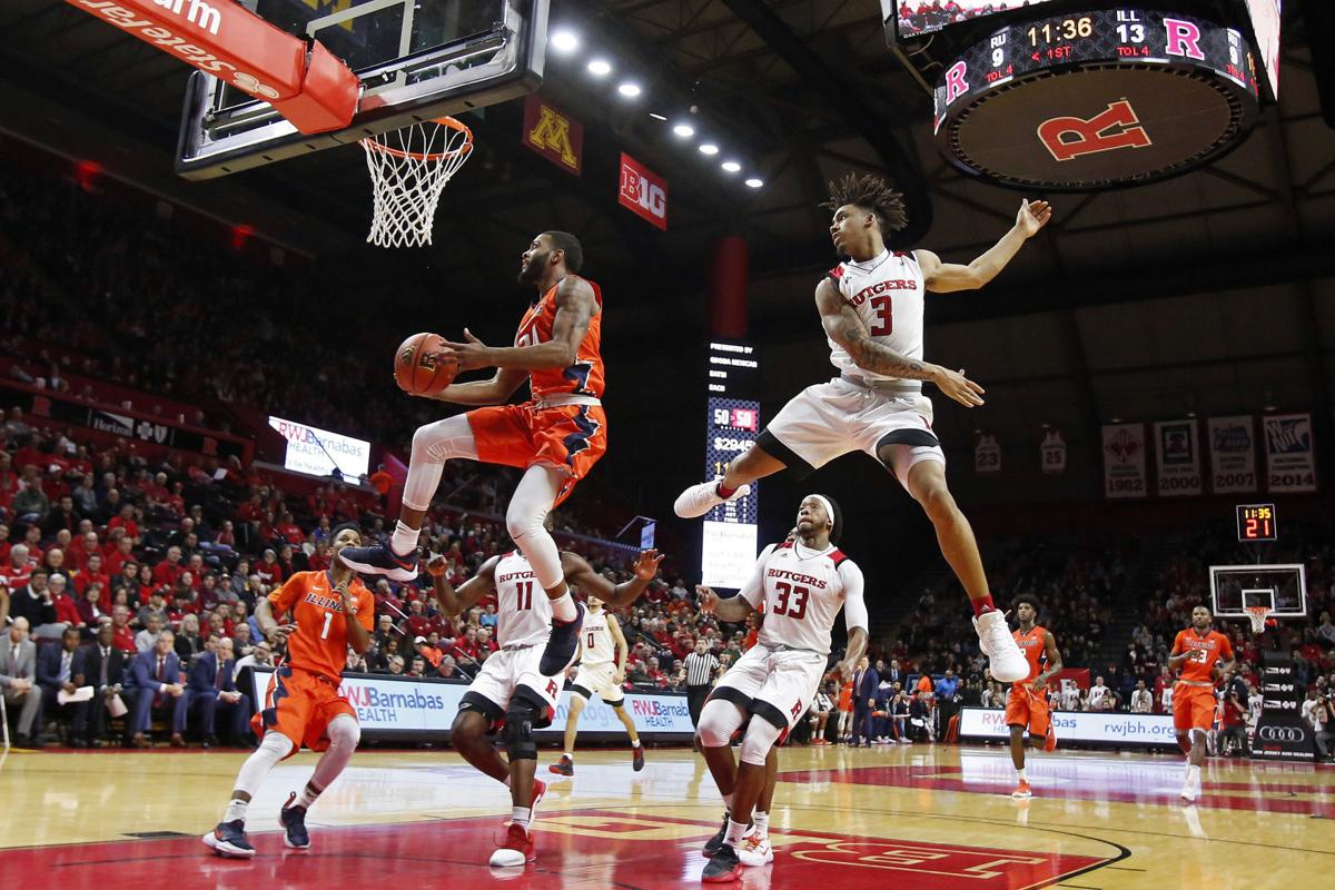 Illinois Rutgers Basketball