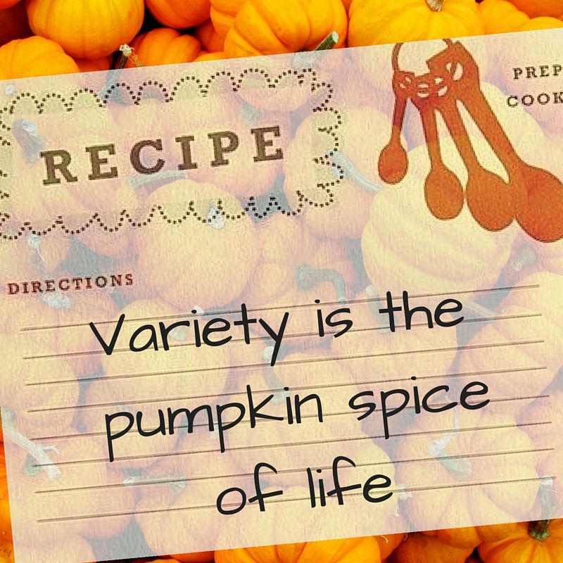 Slideshow: Variety is the pumpkin spice of life