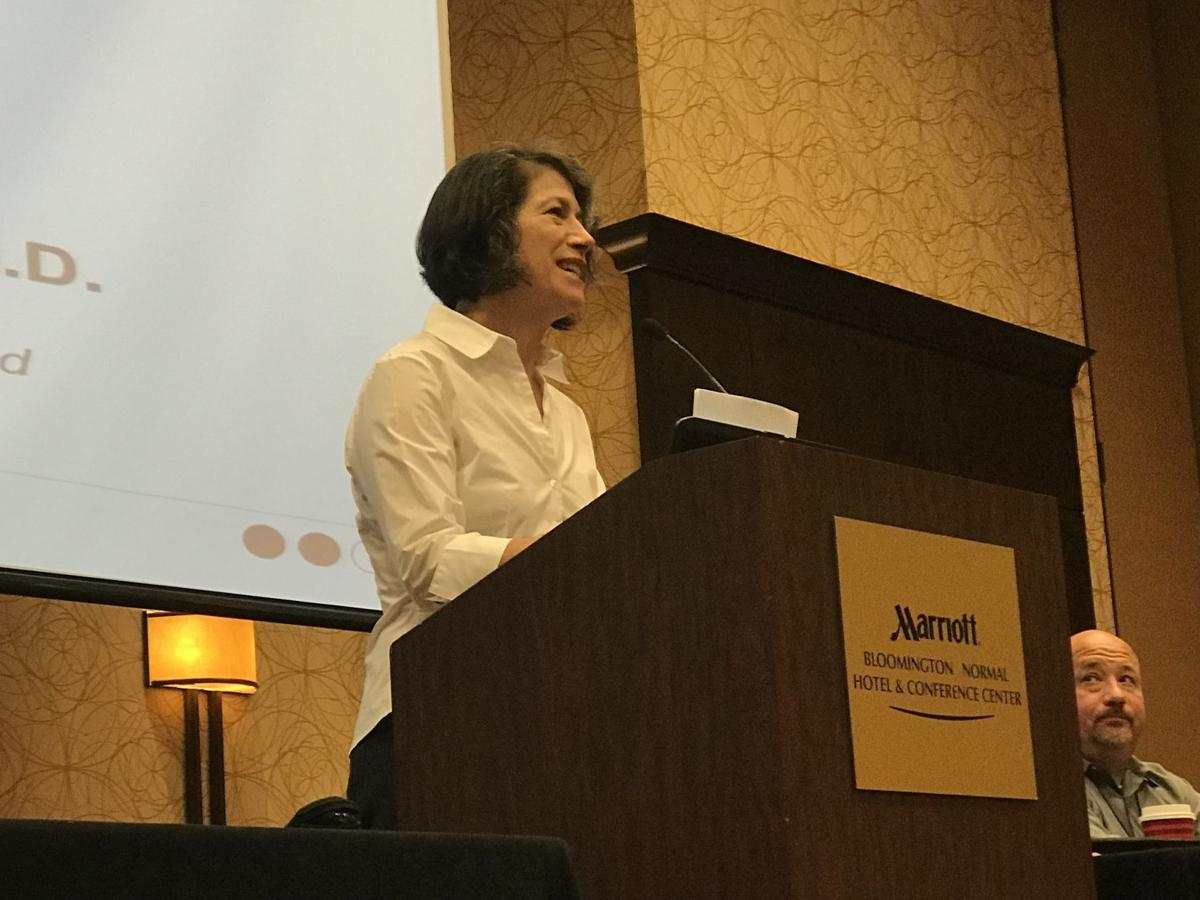 Diana Rauner has message for new parents at Normal conference ...