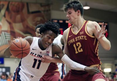 Iowa St Illinois Basketball