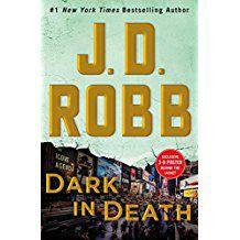 """Dark in Death"" by J.D. Robb, publicity photo"