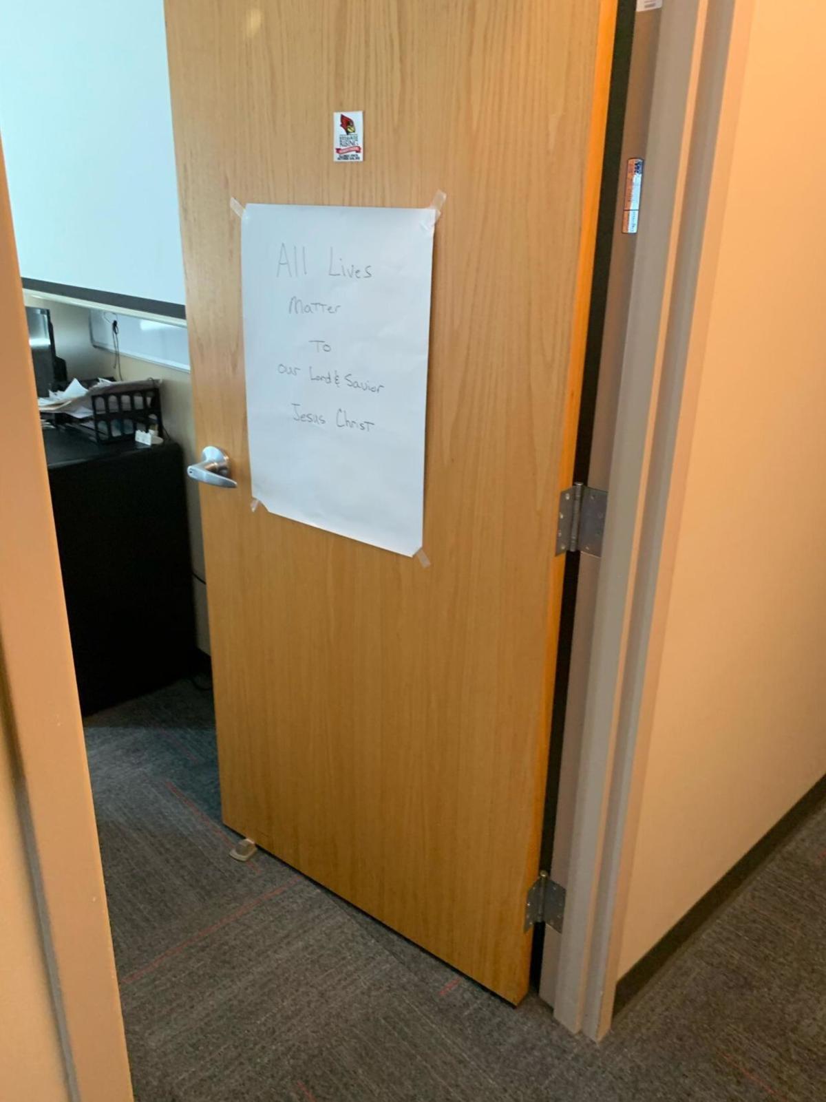 Beathard office door