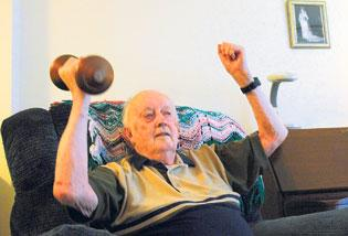 92-year-old a role model for successful aging