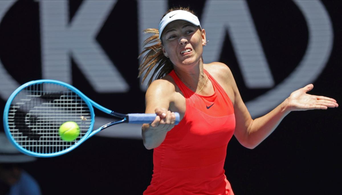 Vekic Ousts 5 Time Major Winner Sharapova At Australian Open