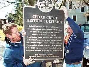 Cedar Crest goes national