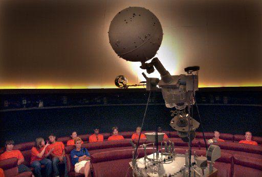 Hometown planetarium