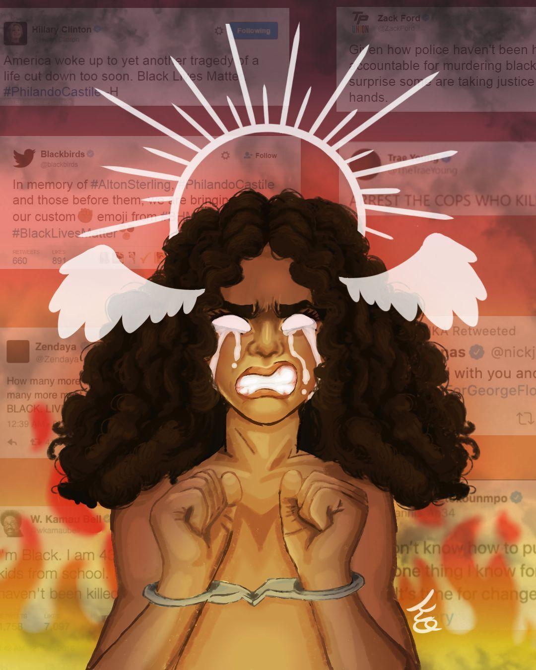 """Black in America"" by Karyss Opsal"