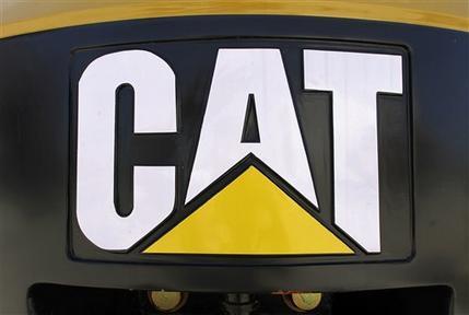 Caterpillar April 2011 sales