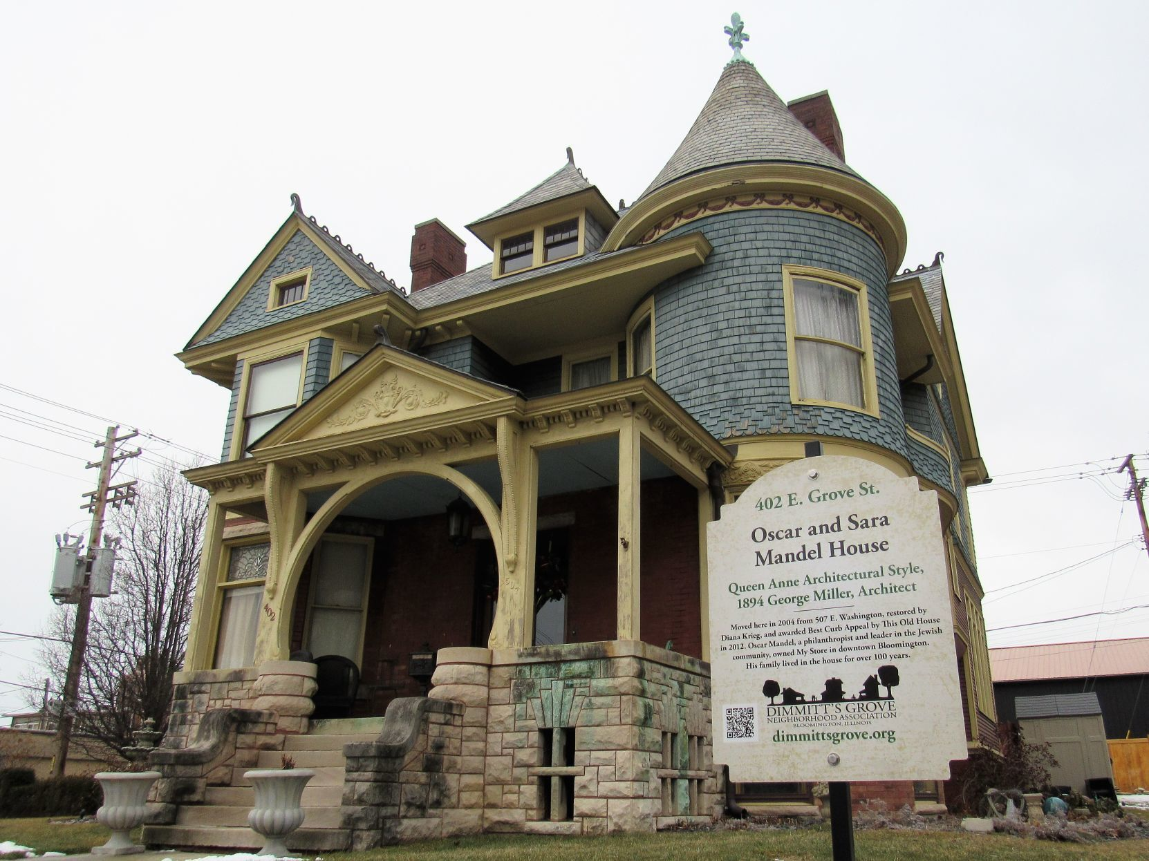 pantagraph.com - Lenore Sobota - Watch now: Architecture, history provide backdrop for walk in Bloomington neighborhood