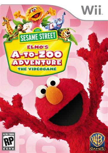 Sesame Street video game Wii