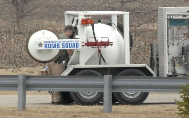 IRS Bomb Scare