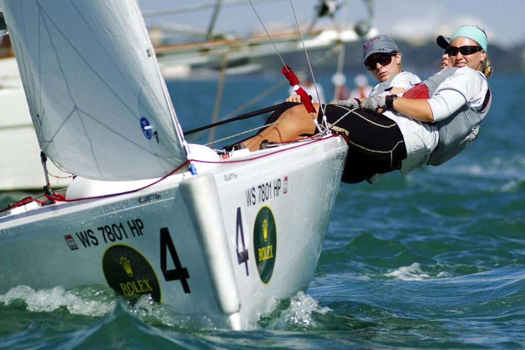 Maggie Shea, United States, sailing