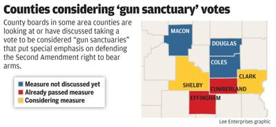 More Illinois counties pushing for 'gun sanctuary' status