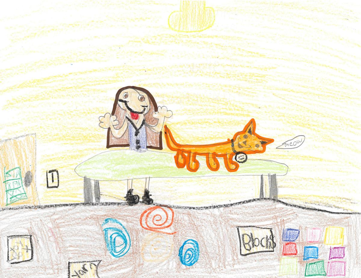 Mathia Atchison, grade 3, Fox Creek
