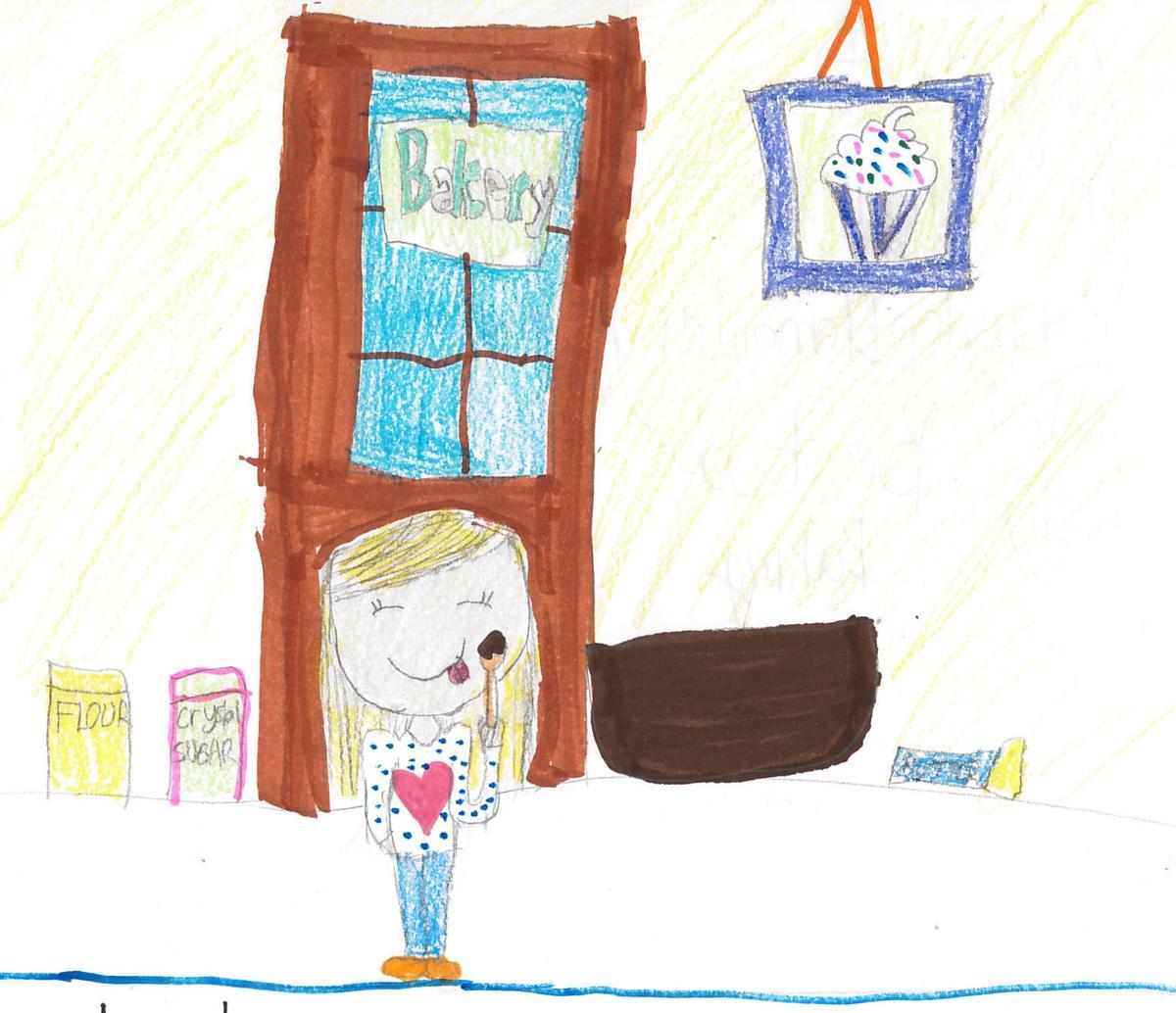 Lucy Ratcliff, grade 4, Washington