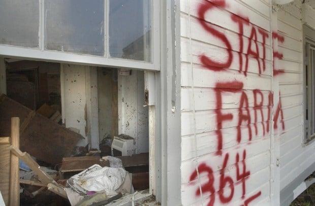 State Farm Katrina damage