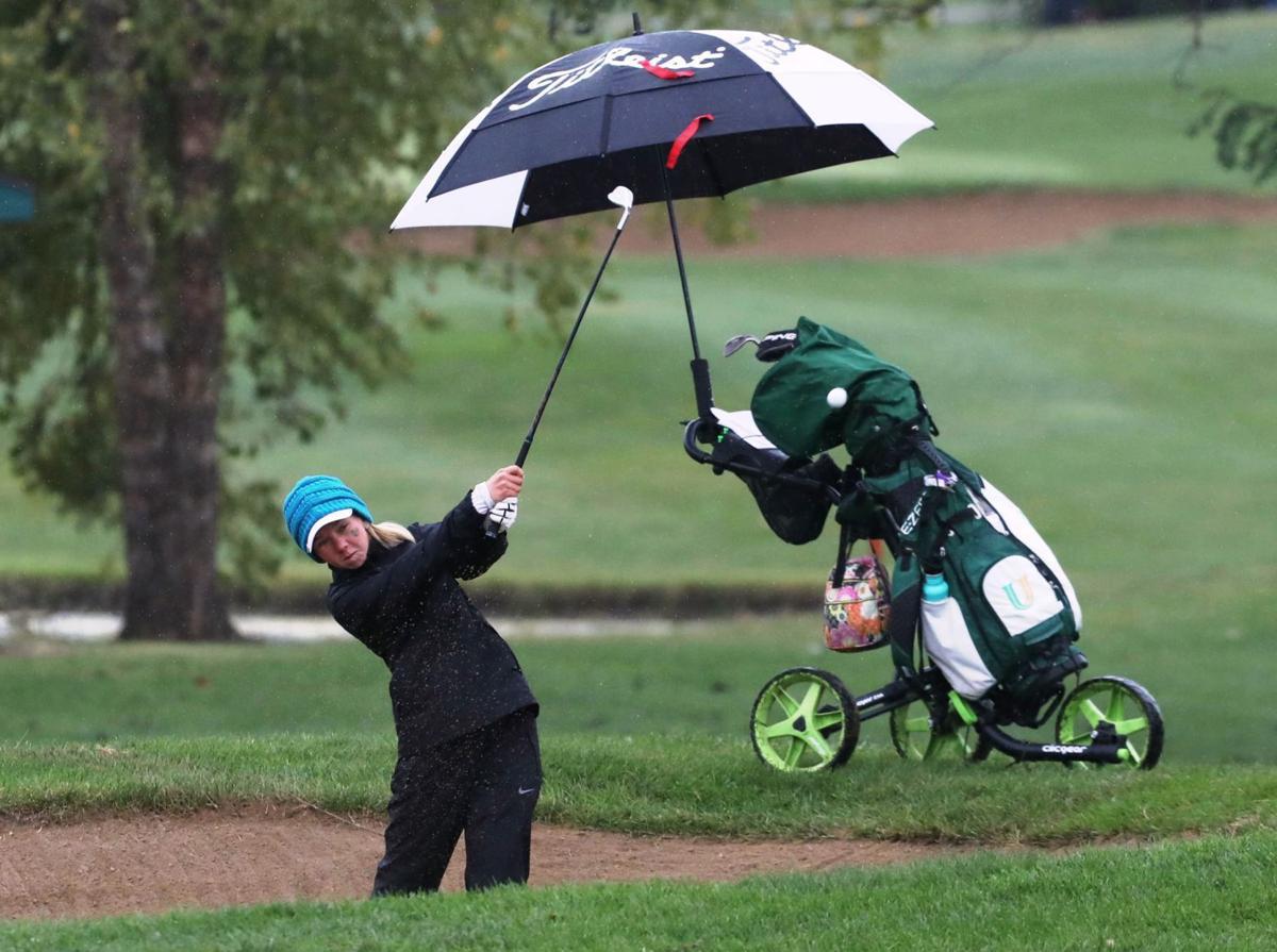 Girls state golf Lexi Onsrud