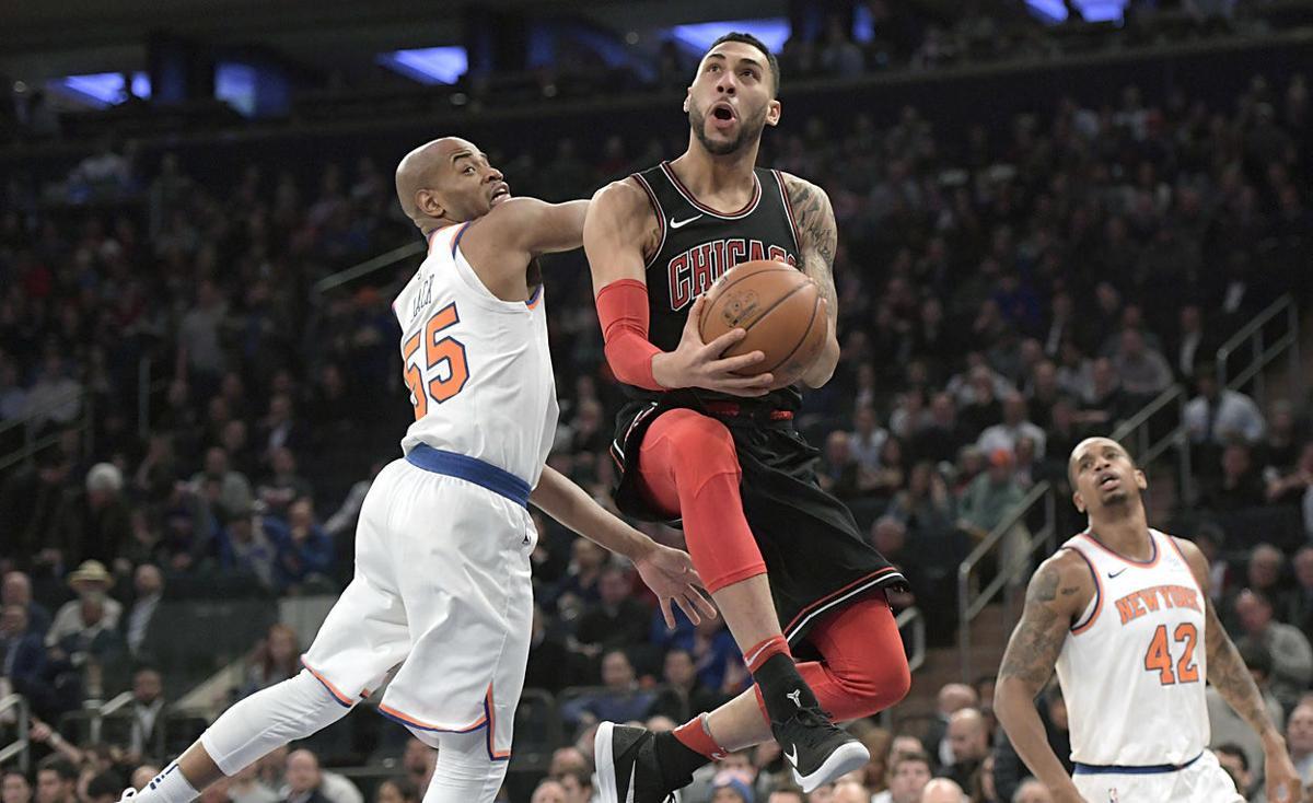 Bulls Knicks Basketball
