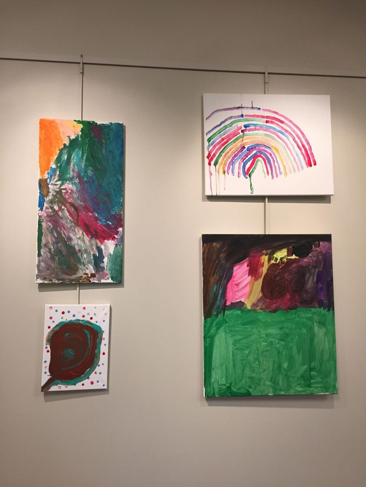 On exhibit