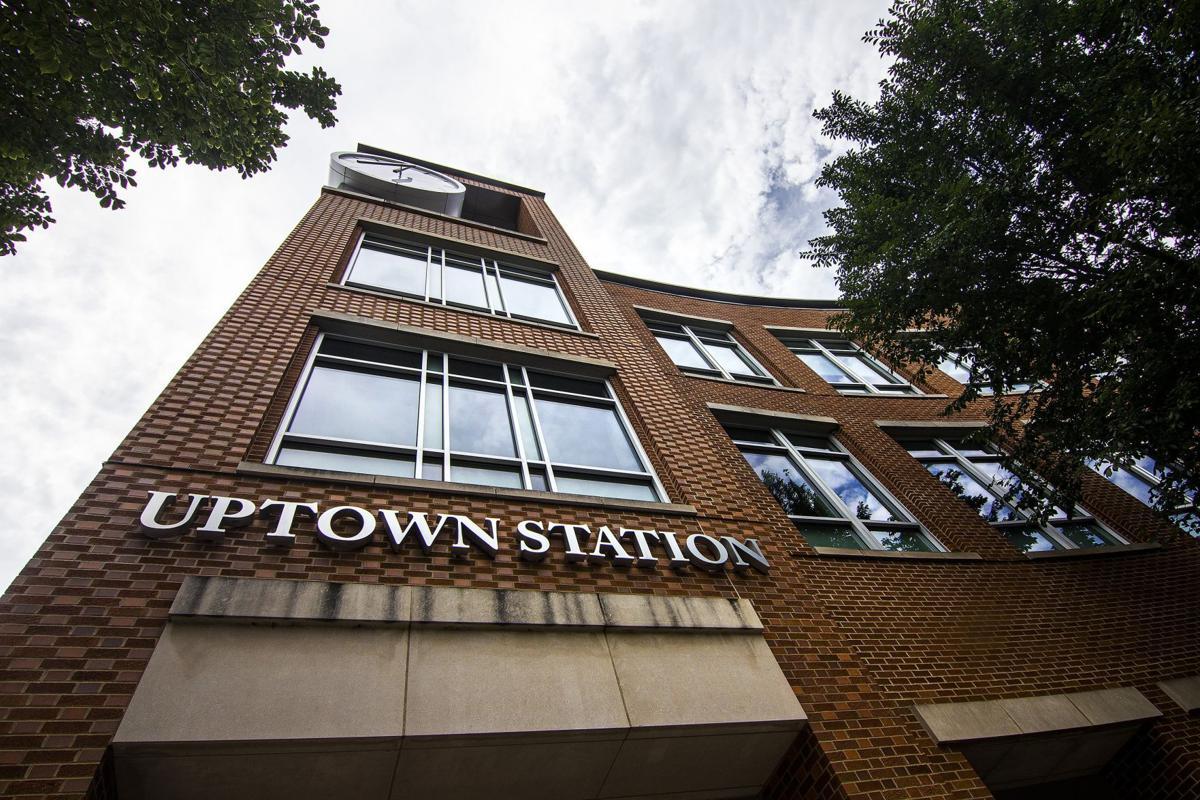 Uptown Station/Normal City Hall building mug