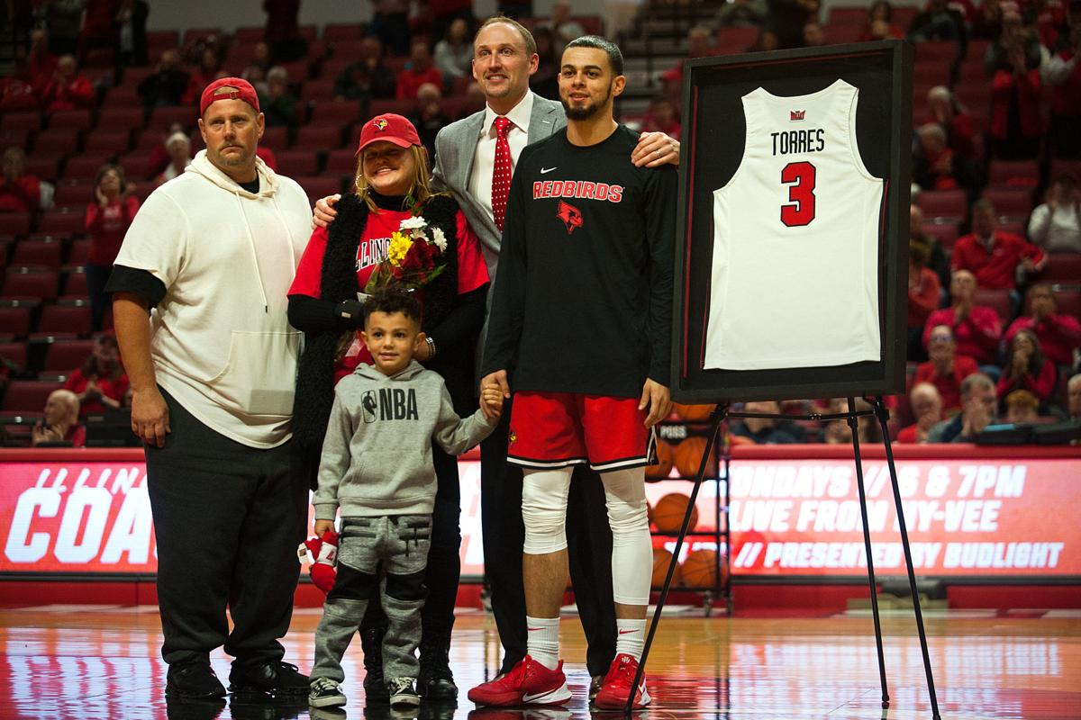 Ricky Torres on Senior Day