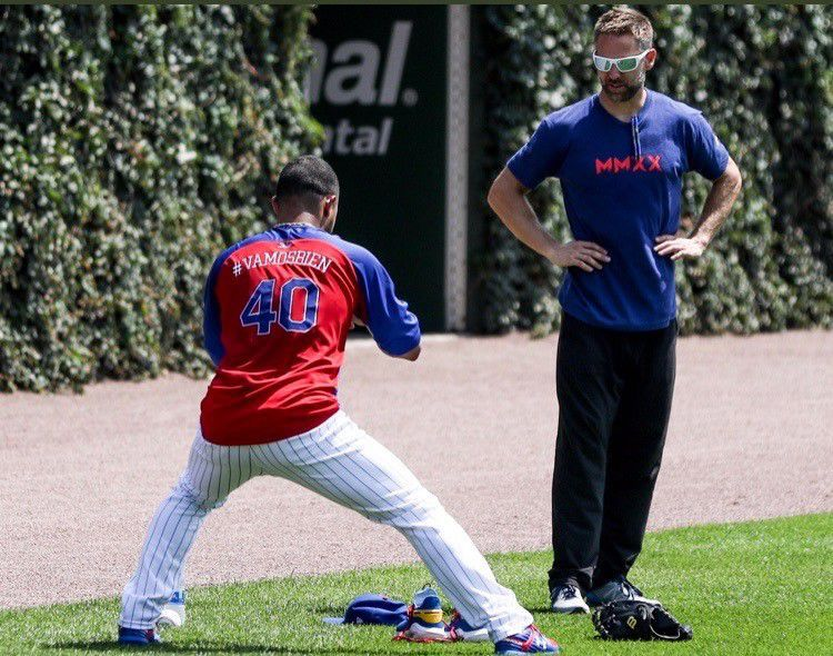 Nate Whitney with Cubs