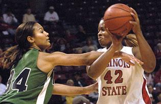 Youngsters lead ISU women to 33-point win
