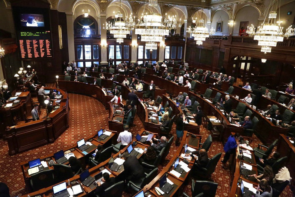 Lawmaker Exodus Illinois Fed up Illinois legislators head