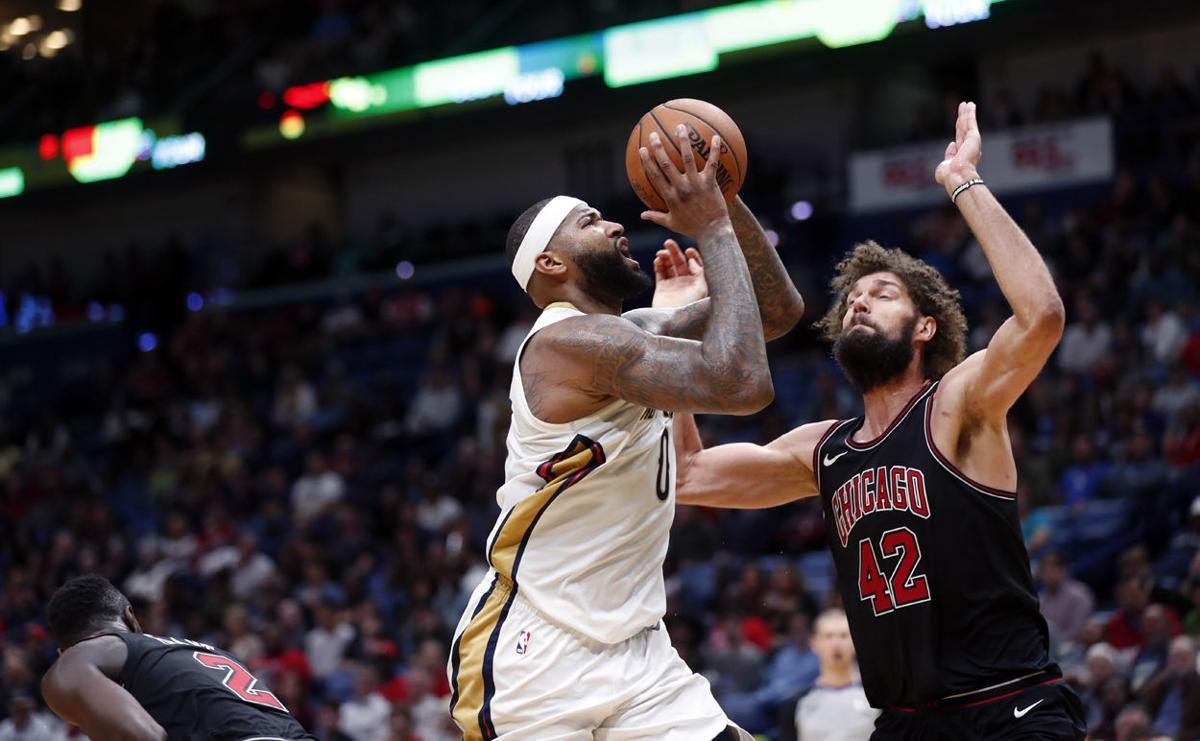 Bulls Pelicans Basketball