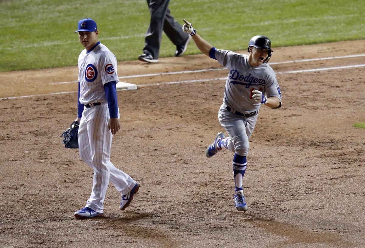 NLCS Dodgers Cubs Baseball