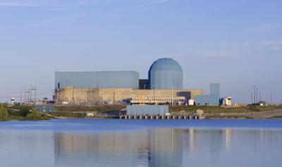 Clinton nuclear plant