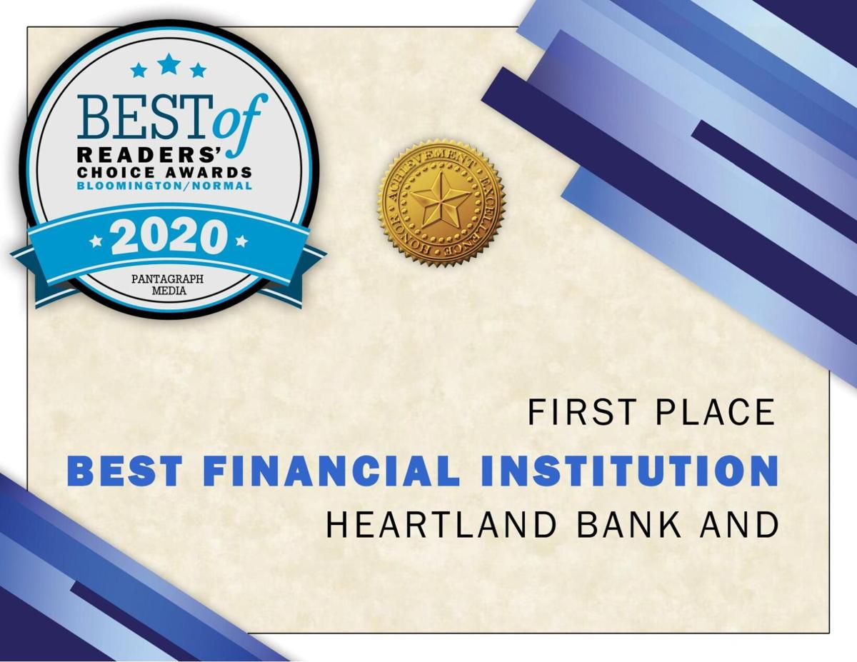 Best Financial Institution