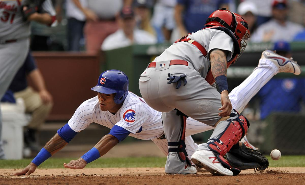APTOPIX Cardinals Cubs Baseball