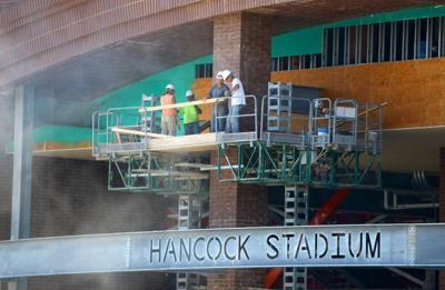 Hancock Stadium renovation