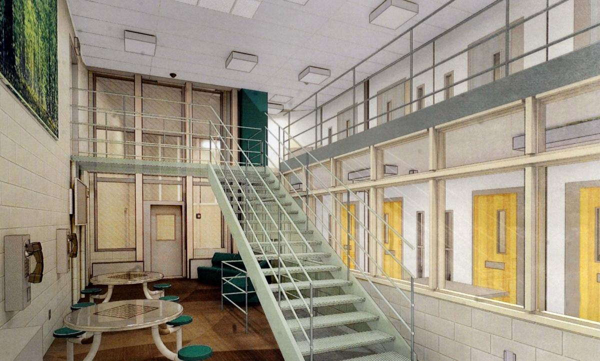 Jail design gains county committee approval local crime for Jail architect
