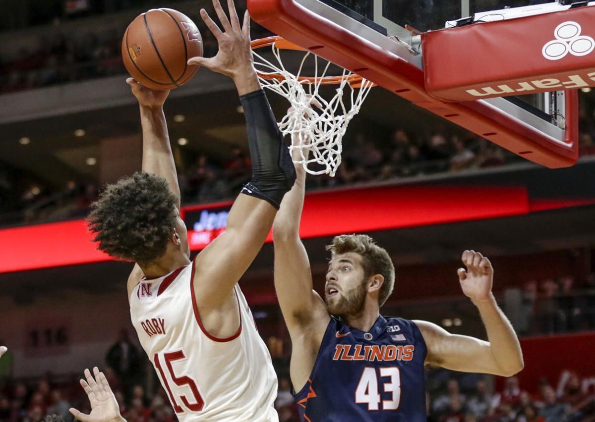 Illinois Nebraska Basketball