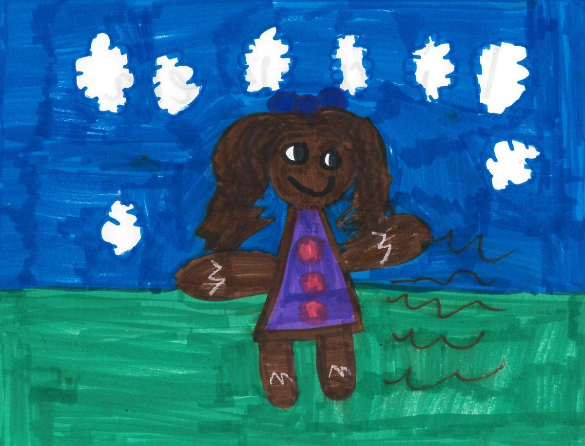 Keera King, grade 2, Irving