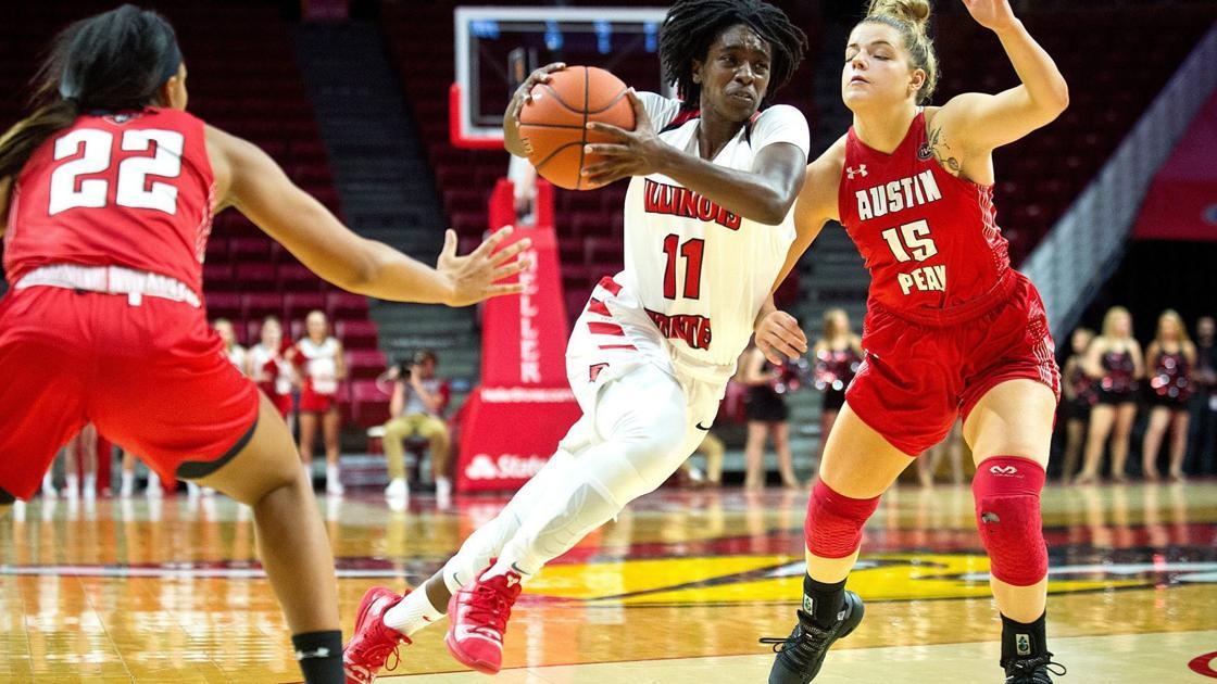 Illinois State women picked sixth, men seventh in preseason Missouri Valley Conference basketball polls; TeTe Maggett, Zach Copeland net individual recognition