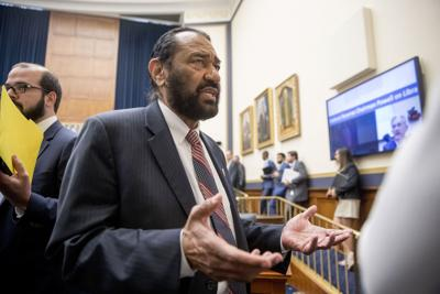 House blocks maverick Dem's attempt to impeach Trump over racism allegations