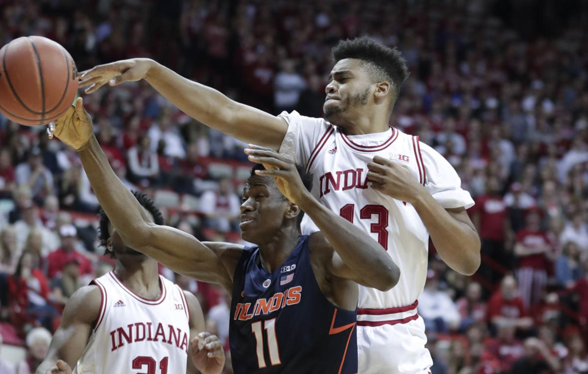 Illinois Indiana Basketball