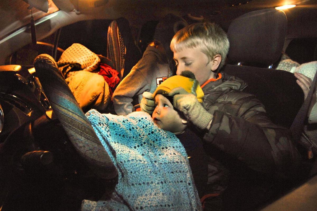 Night in a Car