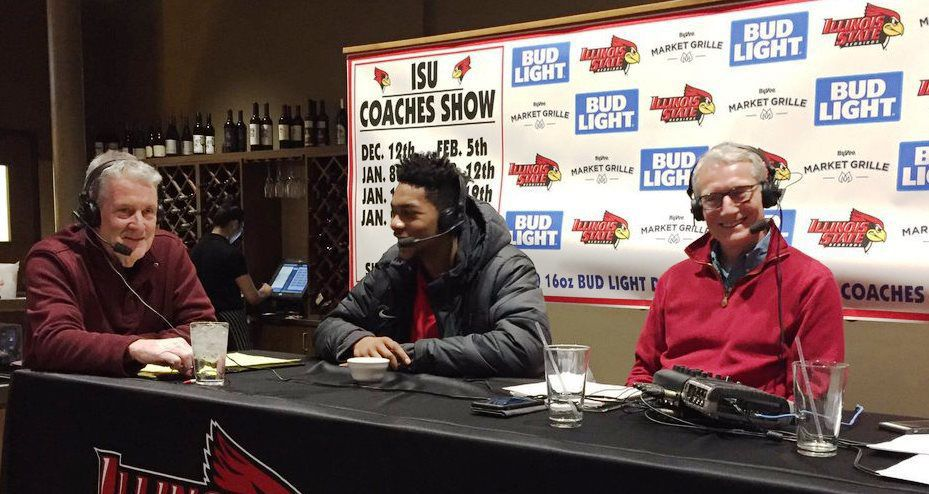 Dick Luedke at coach's show