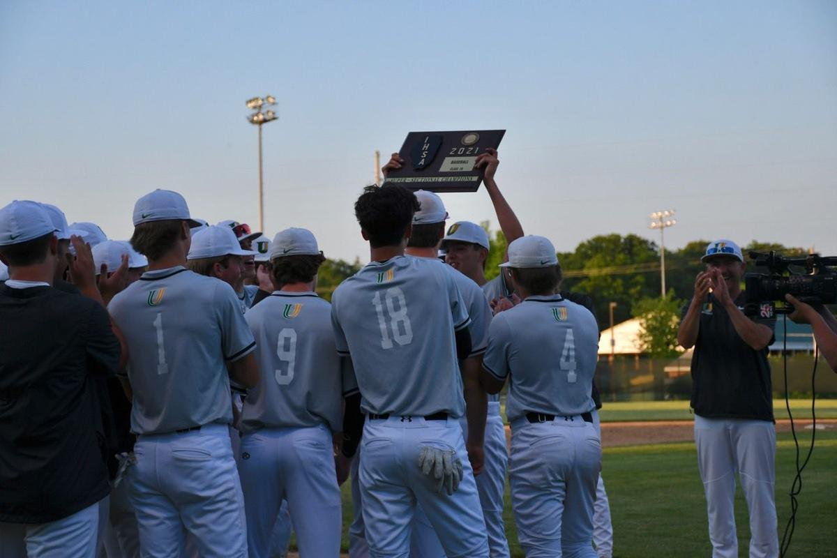 Jake Swartz with super-sectional plaque